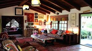 bohemian style living room. Contemporary Living Bohemian Style Living Room Interior View In  Gallery Modern House Decor Black Intended Bohemian Style Living Room A
