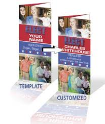 Campaign Brochure Political Campaign Brochure Printing And Flyer Printing