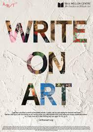 introducing write on art art uk write on art poster