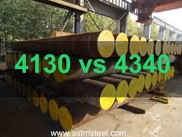 Steel Comparison 4130 Vs 4340 Steel Otai Special Steel
