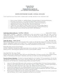 Hospitality Resume Sample Interesting Sample Resume For General Manager Of Restaurant Fruityidea Resume