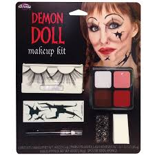demon doll face m u kit