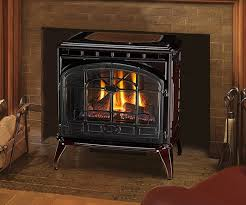 freestanding gas stove fireplace. Quadra-Fire Topaz Large Gas Freestanding Stove. Shown With Quartet Front In Porcelain Mahogany Rear Vent Kit And Standard Safety Screen. Stove Fireplace G