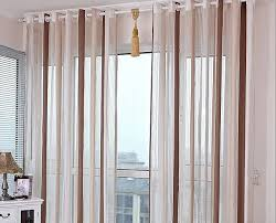 custom size curtains mediterranean style finished sheer curtains chenille screens window