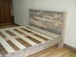 pallet king size bed diy pallet king size bed pallet furniture plans