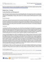 leadership essays essays on leadership essay on leadership style