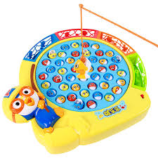 Green Magnet Fishing Light Review Amazon Com Tongli 1581 Indoor Kid Toy Pororo Magnetic