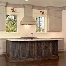 dark stained kitchen cabinets. Image Result For Stained And Painted Cabinets In Kitchen Dark .