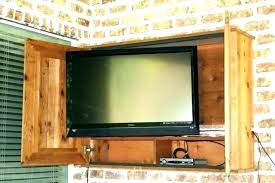 outdoor tv cabinet enclosure outdoor cabinet outside