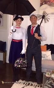 i ve always wanted to create these classic couple costumes i grew up watching the mary poppins and i loved the characters and the costumes