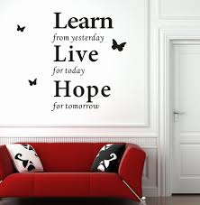 Small Picture Modern Wall Decor Wall Decor Stickers Modern Wall Words