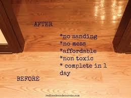wood floor refinishing without sanding. Wood Floor Refinishing Without Sanding Photo 1 Of 7 Wonderful Refinish Floors T