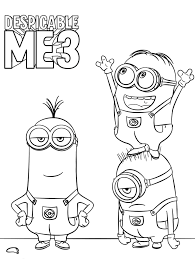 Despicable Me Coloring Pages – Coloring Pages