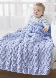 Bernat Baby Blanket Knitting Patterns