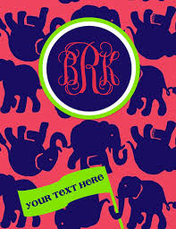 6 Best Images Of Lilly Pulitzer Binder Cover Templates