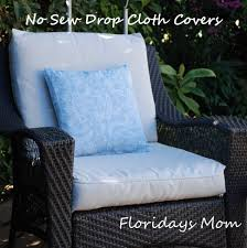 cover impressive on patio cushion slipcovers ideas outdoor with wick pattern custom diy