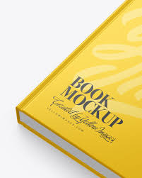 Browse smartmockups' collection of free book mockups and create stunning covers for any type of book. Hardcover Book W Matte Cover Mockup In Stationery Mockups On Yellow Images Object Mockups