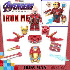 Mô hình lego nhân vật Iron Man phim Avengers: Endgame