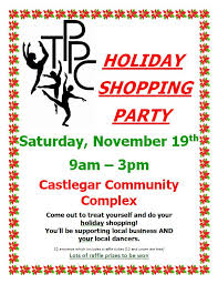 Tppc Turning Pointe Performance Company Holiday Shopping Party