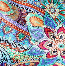 Bohemian Patterns Stunning Bohemian Patterns Orange Silk Scarves In Modern Bohemia Pattern