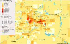 master thesis poverty minneapolis st paul poverty map visualizing economics visualizing economics minneapolis st paul s percent in poverty