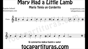 Sheet music for the trombone. Mary Had A Little Lamb Easy Sheet Music For Flute Sax Trumpet Oboe Horn Children S Songs Scores Youtube