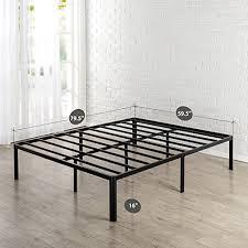 Zinus 16 Inch Metal Platform Bed Frame with Steel Slat Support