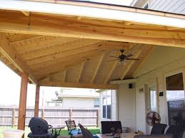 solid roof patio cover plans. Contemporary Plans Decorative Patio Cover Wooden With Fan On Solid Roof Plans