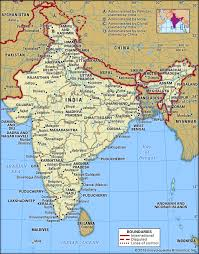Population Chart Of Indian States India History Map Population Economy Facts Britannica