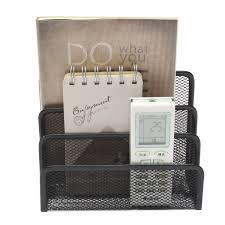 cheap office storage. black mesh metal files storage holder notebook diary organizer desktop office rack shelf home cheap e