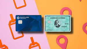 Change Chase Card Design Credit Card Face Off Amex Green Vs Chase Sapphire