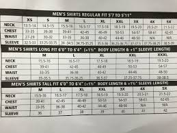 Pendleton Shirt Size Chart Pendleton Shirt Size Chart For Men