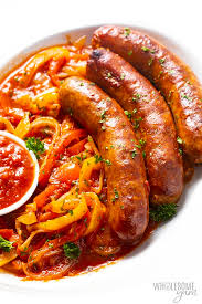 crock pot sausage and peppers recipe