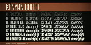 Free fonts pro dot com is a large font archive offering 45,508 free ttf(otf) fonts for direct download, including all kinds of. Kenyan Coffee Font Dafont Com