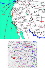Weather Prediction Chart Top Surface Analysis For 1200 Utc 12 Sep 2006 From The