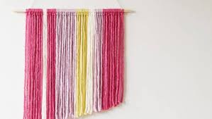 diy woollen wall hanging stuff co nz