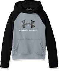 Details About Boys Youth Under Armour Rival Logo Hoodie Sweatshirt Y Sm 8 Or Y Med 10 12 Nwt