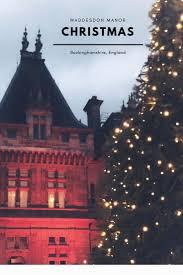 Christmas Lights Buckinghamshire Waddesdon Manor Christmas Lights Buckinghamshire England