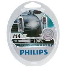 Philips H4 Xtreme Vision Bulb