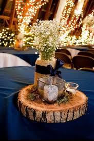 Wedding Decor With Mason Jars Ideas Rustic Weddings Candle Mason Jars Blue Jar Tierra Este 37
