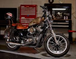 here s what a 4 000 harley sportster 1200 and elbow grease looks