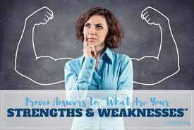 Good Answers For Strengths And Weaknesses