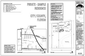 Drawings Site Architectural Construction Documents Cover Sheet Florida Architect
