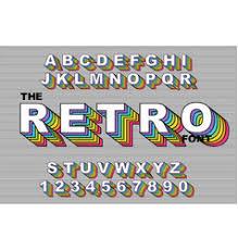 Rainbow Sketch <b>Alphabet</b> Vector Images (over 100)