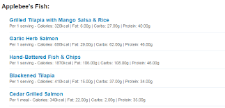 Five Apple Bees Nutrition Facts Different Nutrition Salads