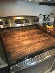 suburban wood cover ideas camco motorhome chef ceramic for atwood protective stove cooktop glass top diy covers stovetop burner tray cutting oven beautiful