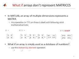 size of matrix matlab array math ppt video online download