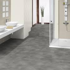 tarkett id inspiration loose lay beton grey vinyl tile flooring