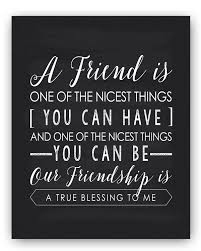 Friendship Gift Friend Quote Sign Unique Friendship Gift Best Friend Gift Friend Quote Gift