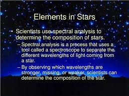 Spectral Analysis Of Light From Stars Ppt Stars Unit 1 2 Stars Powerpoint Presentation Free